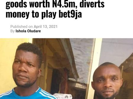 A Company Driver Diverts, Sells N4.5m Goods For N2.570m, Spends N1.672m On Lotto Game