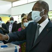 Legislatives 2021: voici où le président Ouattara a voté ce samedi 06 mars 2021