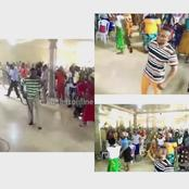 Check Out The Moment Pastor And Church Members Were Caught With Guns, Cutlasses In Edo (Video)