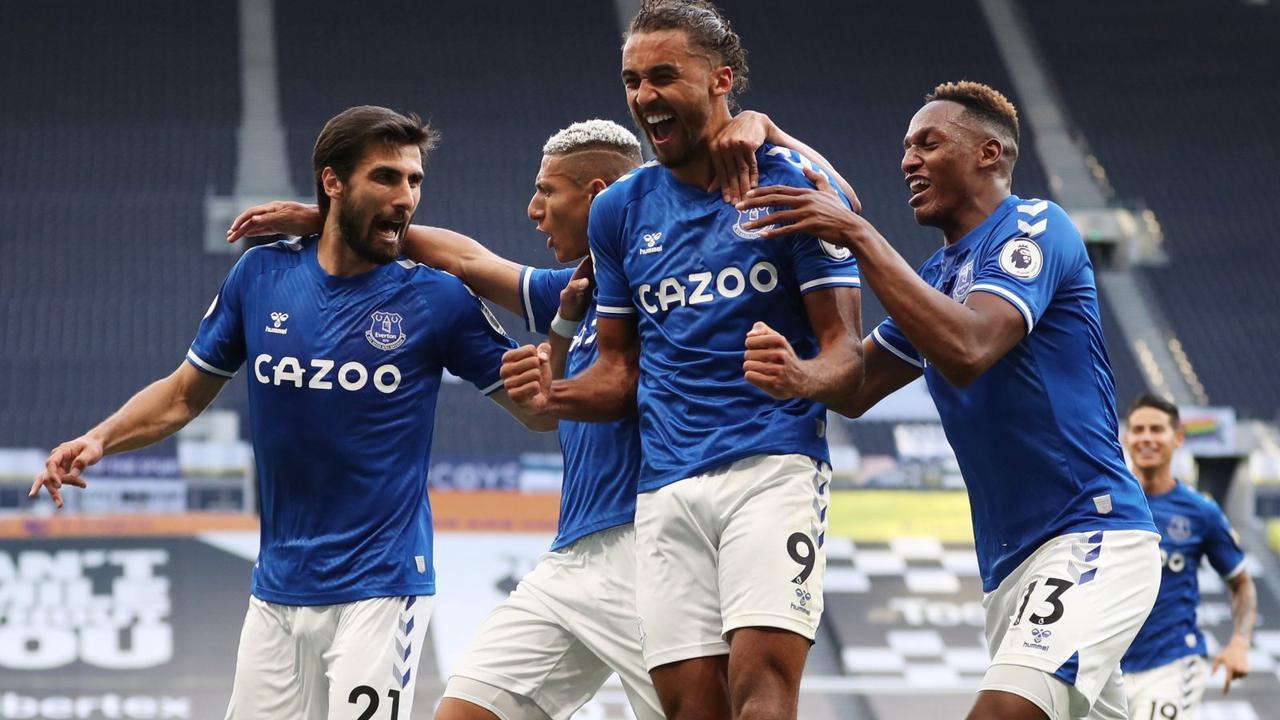 Everton fans make Harry Kane demand after Dominic Calvert-Lewin snub