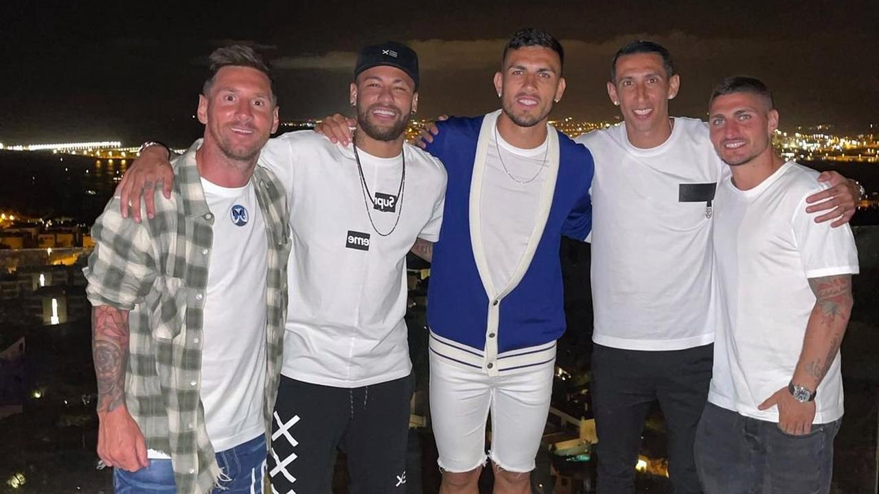 Lionel Messi meets up with Neymar and PSG stars on holiday in Ibiza