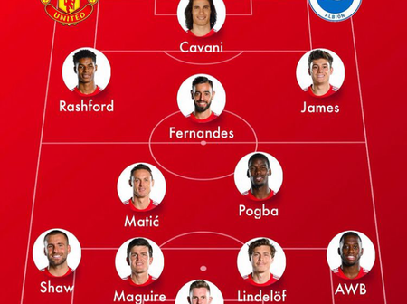 Opinion: United Won't End Up Like Chelsea If Ole Gunnar Uses This Lineup Against Brighton Today