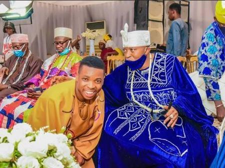 Woli Agba Ayo Ajewole Drops New Photos Of Himself And Oluwo Of Iwo In An Event