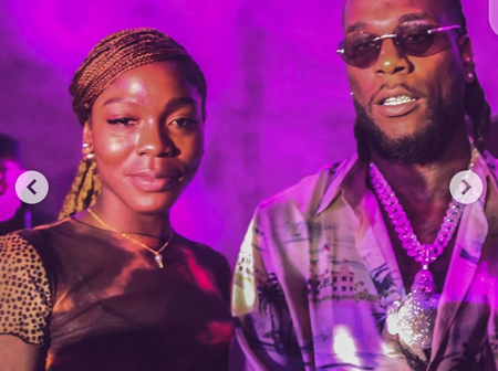 Meet Burna Boy's Beautiful Sister Who's Also A Musician