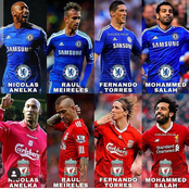 Checkout players Who have played For Both Chelsea and Liverpool