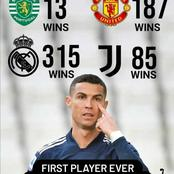 Ronaldo has set a club record. Check out what it is
