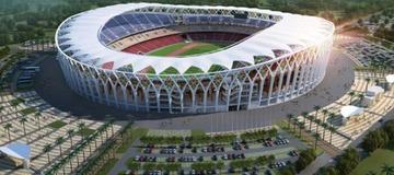 Chef-d'oeuvre / le stade olympique Ebimpé fait parler de la Côte d'Ivoire