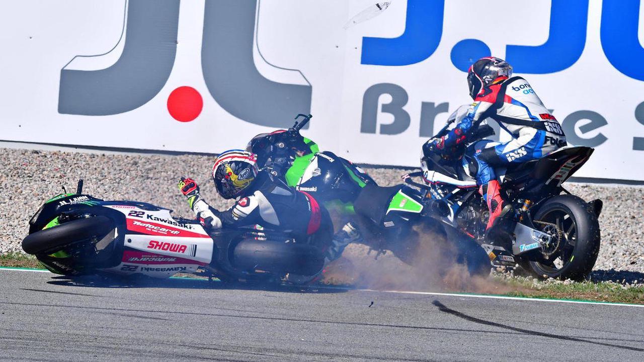 Superbike-Schock! Rennen in Jerez nach Massensturz abgebrochen