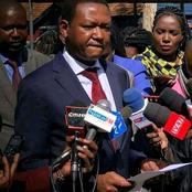 Alfred Mutua Explains Why He Never Attended Uhuru's Meeting