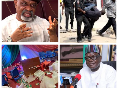 Today's Headline: PDP Zonal Congress Ends In Chaos As Thugs Snatch Ballot; Jerry Gana, Return To PDP