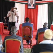 Uhuru Holds A Meeting With Garissa County Elders, See Details