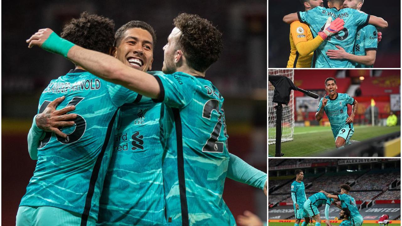 The best of the photos from Liverpool's win at Old Trafford