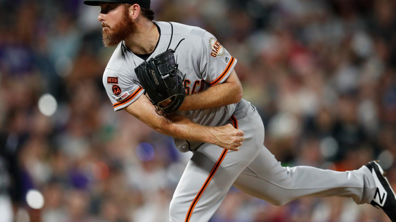 Former Giants pitcher Sam Dyson banned 1 year under domestic violence policy