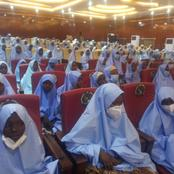 See Photos Of The Girls Released At 5am In Zamfara - See What The Government Promised Them