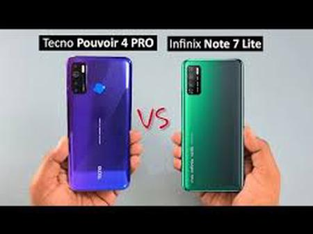 Tecno Pouvoir 4 pro and Infinix Note 7 lite key specs and price comparison