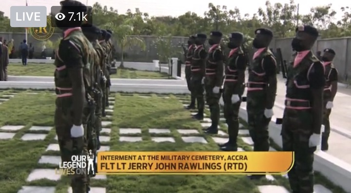 0514b3f71aa44c9d964a64ccc74a0906?quality=uhq&resize=720 - Sad Moment: How JJ Rawlings Was Conveyed By The Military To The Newly Built Burna Camp Cemetary