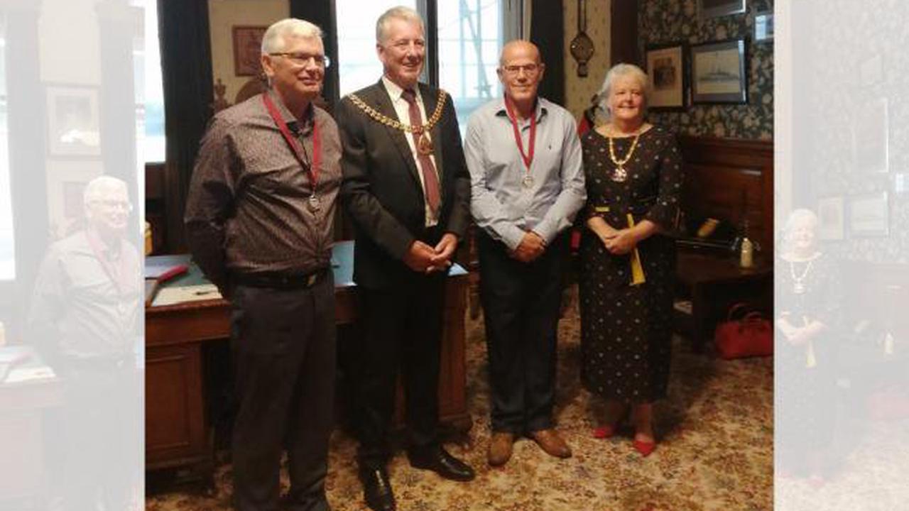 Burnley: Bank Hall care home team awarded Mayor's Medal