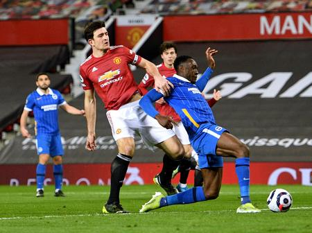 England international sets a record to become the 1st player to do so in United vs Brighton clashes