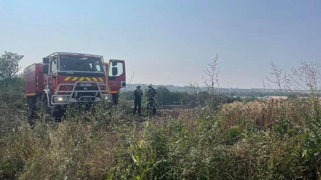 Une quarantaine de pompiers mobilisés pour un feu d'entrepôt aux Bois de Grasse