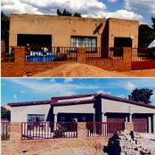 Limpopo shared his house transformation that left many speechless.