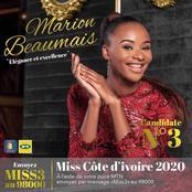 Miss Côte d'Ivoire 2020: Marion Beaumais à la conquête de la couronne