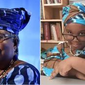 Okonjo-Iwela honours 4 years old girl who dresses up like her