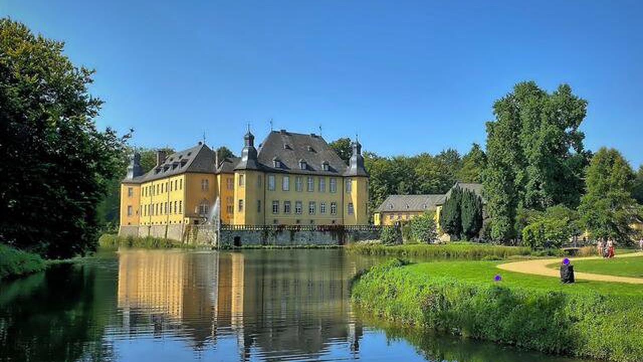 Ausflugstipp: Noch mal Schloss Dyck: Kunst und Natur im Schlosspark