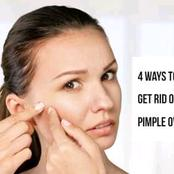 Natural Ways To Remove Pimples And Acnes On Face