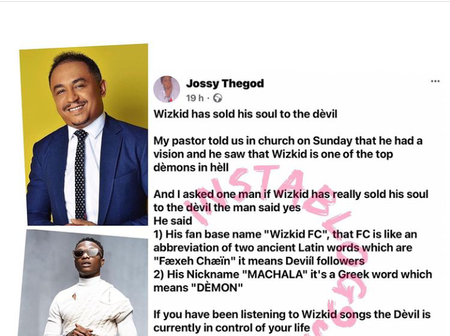 Daddy freeze defends Wizkid after man called him a Demon