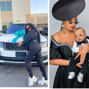 Check Out Lovely Photos Of Son Nina Has With Husband Who Just Bought Her A Range Rover