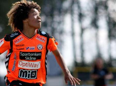 Evelina Duljan: Nigerian forward joins Vaxjo on loan from Kristianstads Samuel Ahmadu