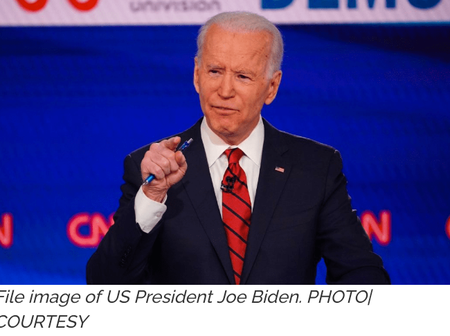 Good news to African countries from US president Joe Biden