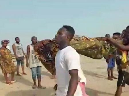 Apam Chief fisherman gives spiritual reason why 20 kids got drowned at sea - says they were stubborn