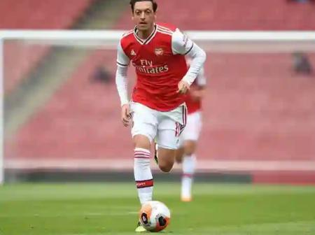 An update on Mesut Ozil's future