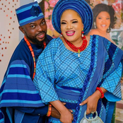 See Lovely Photos Of Toyin Abraham's Stepdaughter And Husband
