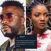 """I Left The Industry Because Of You, You Are An Ingrate"" Samklef Blasts Simi For Criticizing Him"