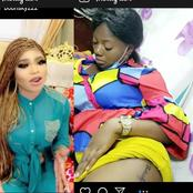Reactions As Another Fan Tattooed Bobrisky's Name On her Lap