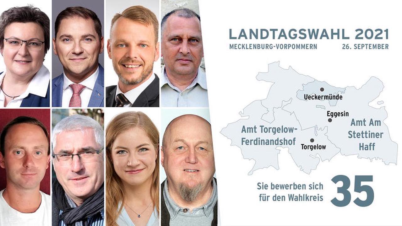 Sie wollen mit den Stimmen vom Haff nach Schwerin