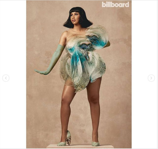 Cardi B named Billboard