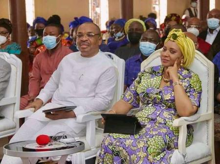 People React To Governor Udom Emmanuel's Easter Message On Social Media.
