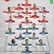 UEFA All-Stars And CONMEBOL All-Stars For Each Position