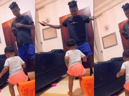 Strongman And Daughter In A Dance Battle In This Cute Video