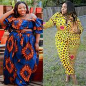 Dear Chubby Ladies, Checkout These 30 Ankara Outfits You Can Wear And Look Beautiful This November