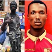 The Guy That Was Mistaken For A Mad Man Has Been Identified, See Why He Dressed That Way