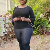 Thuli Madonsela is wearing tight pants, See the softer side of Thuli.