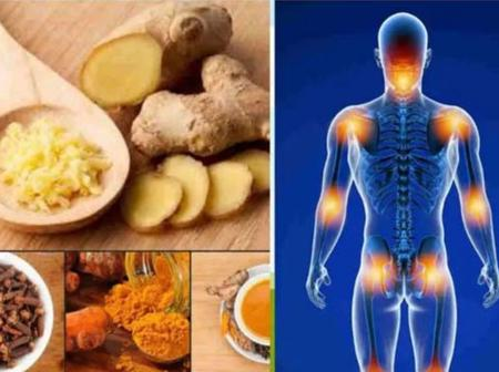 How To Treat Rheumatism And Joint Pains With Cloves, Ginger And Tumeric.