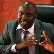 Irungu Kangata' Responds After He Was Allegedly Spotted Running To Meet DP William Ruto