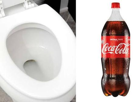 Did you know that Coca Cola can clean your toilet?