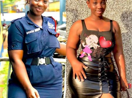Meet Ama, Ghana's most beautiful Policewoman causing a stir online; See 25+ photos of her.