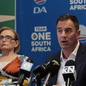 The DA Refutes Reports Of A Possible Coalition With The ANC